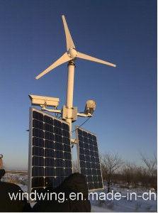 generatore orizzontale del mulino a vento 3000W con velocità del vento Rated 8m/S