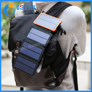 2018 10000mAh de energía solar batería externa Banco Banco de potencia