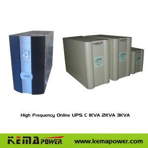 0.9 동력 인자를 가진 C1-3K 고주파 두 배 변환 온라인 UPS