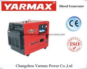 Generatore diesel silenzioso di approvazione 5kVA del Ce