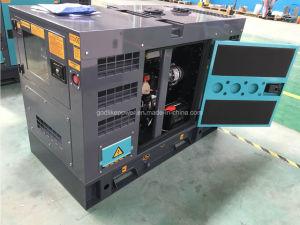 판매 - 강화되는 Isuzu를 위한 50Hz 15kVA 침묵하는 디젤 엔진 발전기