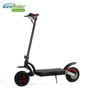 Adulto fuori dal pattino elettrico pieghevole 800W della strada con il sistema posteriore anteriore del freno a disco