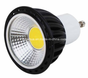 Dimmable Available 5W Black Housing COB LED Spotlight