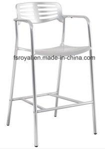 El Hotel Restaurante moderno hogar jardín Muebles de Comedor silla de aluminio anodizado que el apilamiento de Toledo