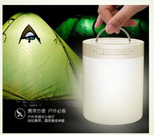 Multi lampada di scrittorio del Nightlight di uso dell'indicatore luminoso LED della lampadina di musica astuta di Bluetooth