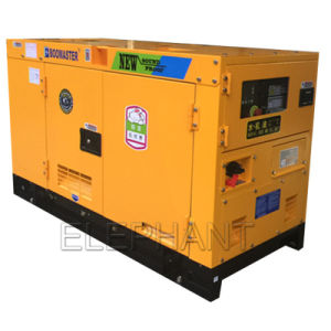 10kVA 15kVA 20kVA 25kVA 30kVA 40kVA 50kVA象の極度の無声ディーゼル発電機