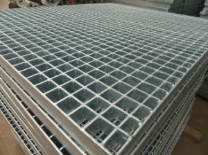 Presionar el bloqueo de la plataforma de rejilla de acero de la Pasarela de la escalera de parrilla de malla