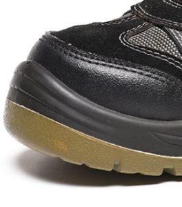 Puntera antiestáticas Oriente Corte Zapatos de seguridad