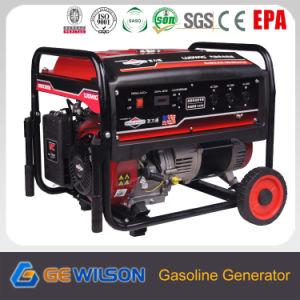 AC Monofásico 6.5kw generador con motor de gasolina