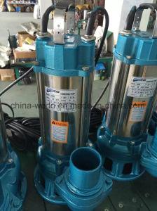 스테인리스 전기 잠수할 수 있는 하수 오물 수도 펌프 1.1kw 의 2inch 출구