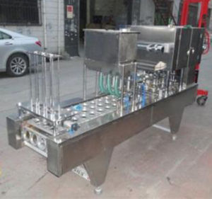 Máquina de sellado de la Copa K K Máquina de Llenado y Sellado de la copa