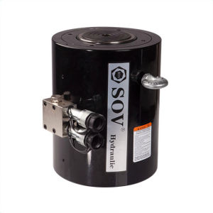 Горячая продажа двойного действия полый плунжер гидравлического цилиндра подъема цилиндра с помощью домкрата заводская цена