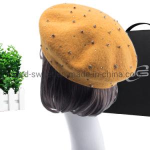 2019 Fashion plaine béret de gros de haute qualité pour la femme (CST-350)