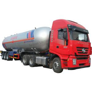 Marca Clw Chengli 3 Eixos vaso de pressão Gás Propano 58.5M3 petroleiro GPL 60000Reboque litros depósito de GPL semi reboque
