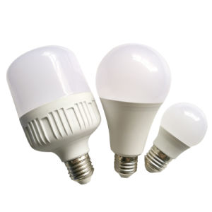 China Proveedor de la luz de ahorro de energía AC DC A60 E27 B22 3W 5W Bombilla LED SMD de 9W Lámpara Bombilla de luz
