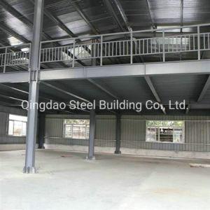 Structure en acier pour l'acier entrepôt, atelier d'acier bâtiment en acier avec mezzanine FR1090 CE