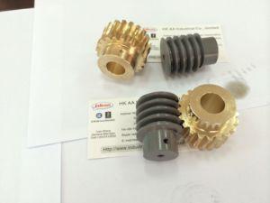 Cuivre personnalisé de haute précision/Bronze pignon moteur pas à pas et les vers