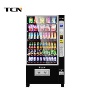 Tcn Snack Boissons Lait boire de la bière froide Combo automatique machine distributrice avec la CE et certificat ISO9001