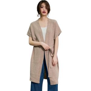 La soie cachemire mélange Tops Womens pullover en tricot Pulls