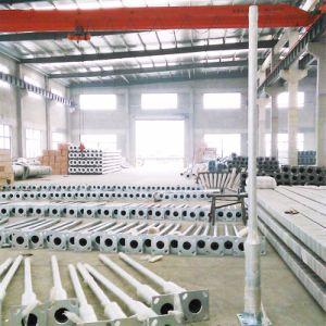 S335 S355 Grau de Aço Galvanizado poste de iluminação