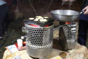 Réchaud générateur thermoélectrique Protable Pow Voyant generateur générateur de poids