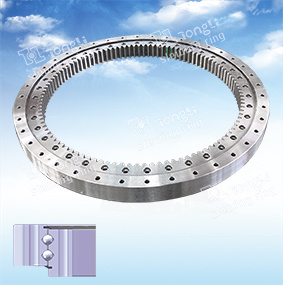 La serie de luz estándar Europeo /Double-Row bolas/Engranaje interior anillo de rotación de bola/trompo