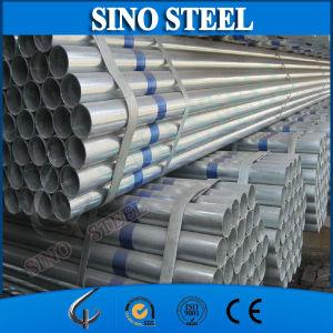 Q235 un tubo rotondo d'acciaio Pre-Galvanizzato da 4 pollici di diametro