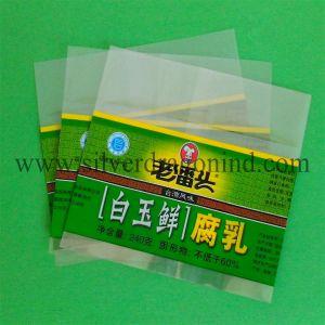 Reducir el tamaño de la etiqueta del vaso de manguito de PVC