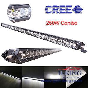 Super Slim 250W CREE LED Light Bar