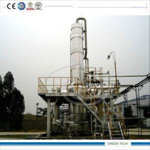 Raffinerie de pétrole brut de 20 tonnes de diesel par distillation moyen de la machine