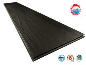 La oscuridad de PVC de grano Driftwood piso vinílico haga clic en el piso de vinilo fabricante