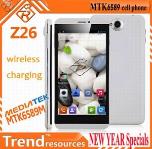5.0  androide Phones - Ipegtop Z26 5.0  Capacitive IPS Touch Screen 1280X720 Android 4.2 Mtk6589 Vierfache Leitung-Core 1.2GHz 1GB RAM u. 4GB