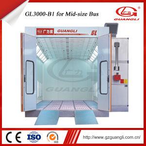На заводе Guangli высокого качества, утвержденном CE надежных среднего и крупного размера шины аэрозольная краска камере печи