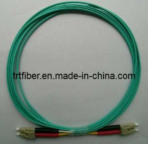 LC OM3 10g Fibra ottica cavi Patch