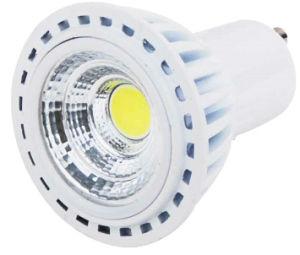 220V GU10 5W COB LED Light mit White Aluminum