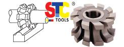 HSS Concave y Convex Milling Cutter