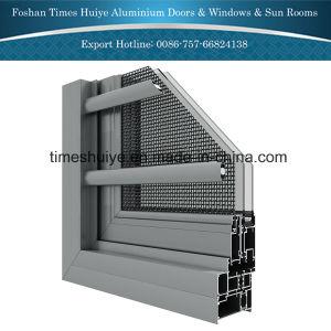 Finestra di alluminio di combinazione con lo schermo della Anti-Zanzara
