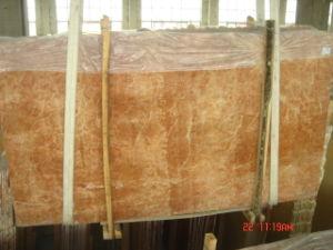 Плитка/сляб Coral красного мрамора Polished для настила