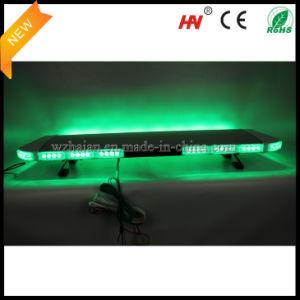 Зеленый светодиод аварийного оповещения системы Lightbar в серебристом алюминиевом купол