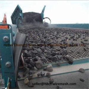 Uso tessuto unito acciaio ad alto tenore di carbonio della rete metallica in schermo di vibrazione