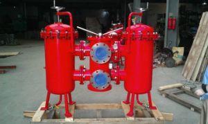 Selbstregelnde Pumpe-Duplex-Grobfilter für Wasserbehandlung