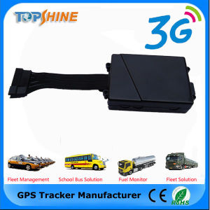 Huella Wateproof 3G 4G GSM GPS Tracker con conductor ID identificar
