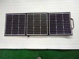 キャンプのためのSunpower 120Wの携帯用太陽電池パネル