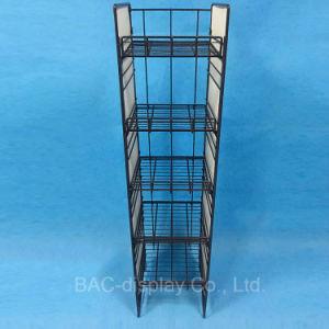 새로운 간단한 Customizable 5개의 층 철 철사 파편 선반 금속 케이크 진열대