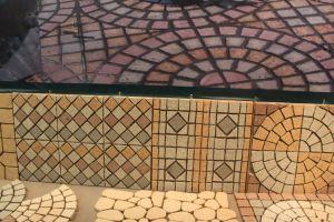 Природные серый/черный/красный/желтый гранит сад/вымощены булыжником/ Cube/флаг/обуздать/слепых/Форма вентилятора/асфальтирование камни по благоустройству
