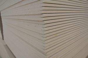 Le papier Face Placoplâtre, plafond de placoplâtre de PVC, panneau de plafond en plâtre, PVC dalles de plafond,