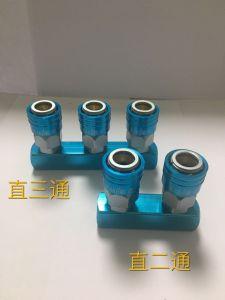Accoppiatore rapido dell'aria adatta pneumatica