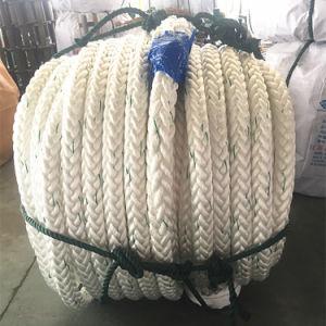 12 il poliestere del filo UHMWPE ha coperto la corda in mare aperto//PP di nylon /Polyester che attracca la corda del fante di marina della corda