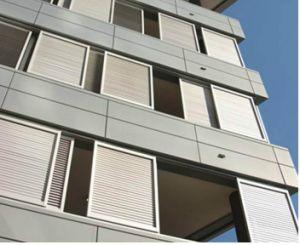 Otturatore tedesco In ritardo-Moderno di Windows dell'otturatore del rullo della lega di alluminio