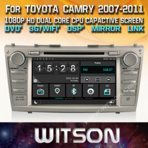 Lettore DVD di multimedia dell'automobile di Witson Windows per Toyota Camry 2007 2011